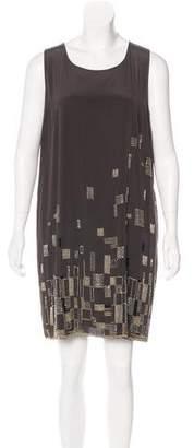 DKNY Silk Mini Dress