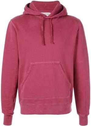 Officine Generale kangaroo pocket hoodie