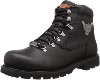 Harley-Davidson Men's Glenmont Motorcycle Lace To Toe Boot