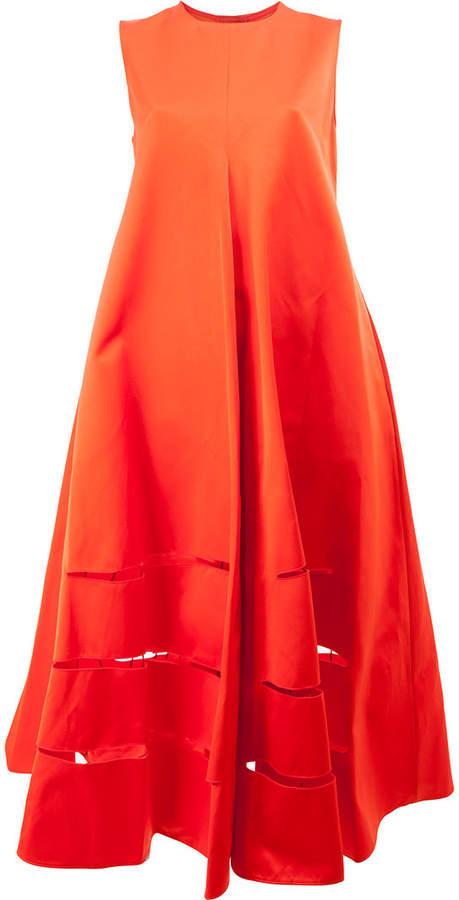 Maison Rabih Kayrouz cut out detailed oversized shift dress