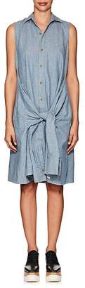 Yohji Yamamoto Regulation Women's Linen-Cotton Chambray Shirtdress