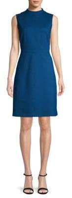 Ellen Tracy Mockneck A-Line Dress