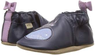 Robeez Poppy Whale Soft Sole Girl's Shoes