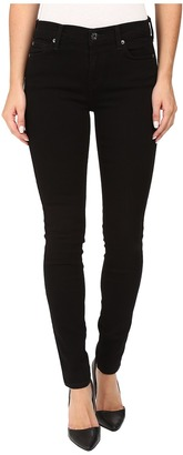 7 For All Mankind Skinny w/ Squiggle in Washed Overdyed Black $159 thestylecure.com