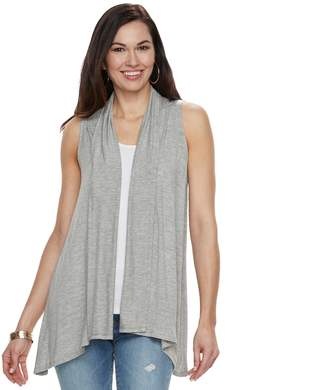 Apt. 9 Women's Sleeveless Cardigan