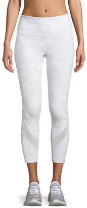 Vimmia Purpose Camo-Print Capri Leggings