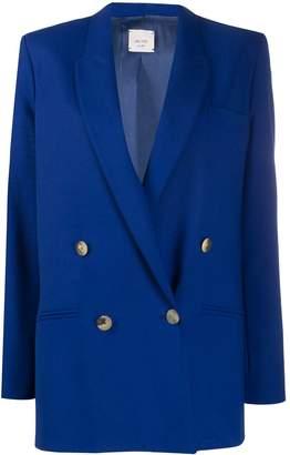 Alysi boxy fit buttoned blazer
