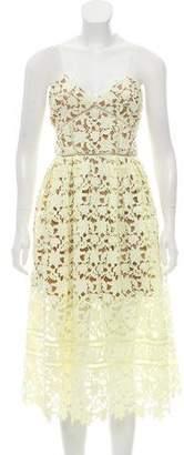 Self-Portrait Azaelea Knee-Length Dress