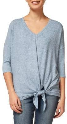 Dex V-Neck Side Tie Top