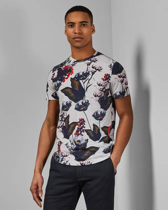 Ted Baker SKINK Floral cotton T-shirt