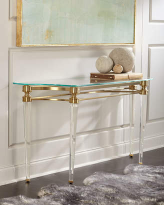 Ambella Martha Acrylic Console Table