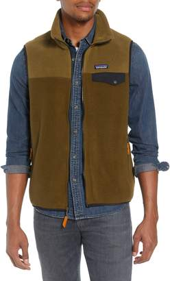 Patagonia Synchilla(R) Snap-T(R) Zip Fleece Vest