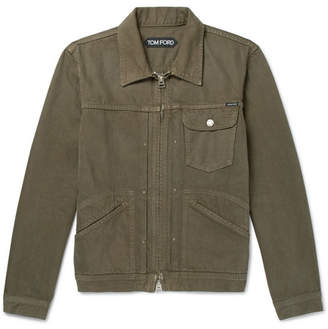 Tom Ford Denim Jacket - Green