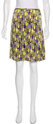 Missoni Printed Silk Skirt