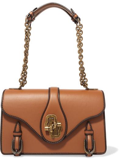 Bottega VenetaBottega Veneta - The City Knot Leather Shoulder Bag - Tan