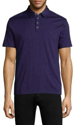 John Varvatos Hampton Silk Blend Polo