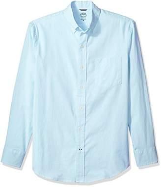 Izod Men's Newport Oxford Solid Long Sleeve Shirt