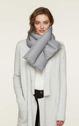 Soia & Kyo KYMIA water-repellent down puffy scarf