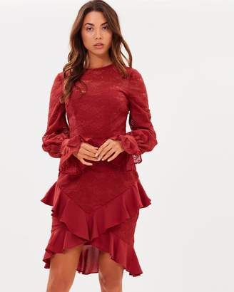 Cooper St Amore Long Sleeve Dress