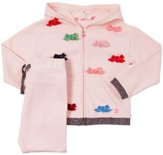 Billieblush Bows Cotton Sweatshirt & Pants