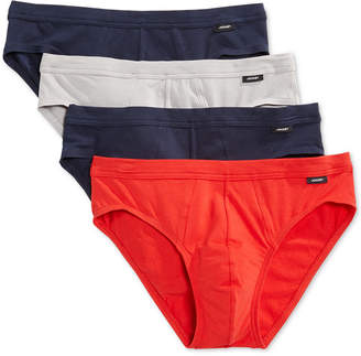 Jockey Stretch Tagless Bikini Briefs, 4 Pack $32 thestylecure.com
