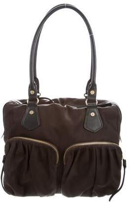 MZ Wallace Leather-Trim Nylon Jane Bag