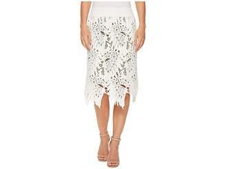 Nic+Zoe Falling Lace Skirt Women's Skirt