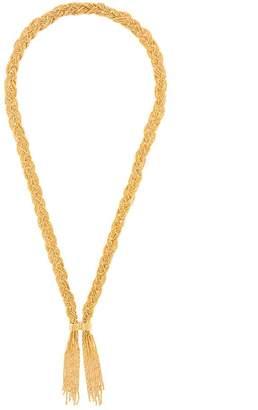 Aurelie Bidermann Miki woven necklace
