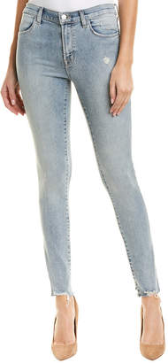 J Brand Maria Remnant High-Rise Skinny Leg