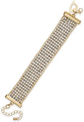 Thalia Sodi Gold-Tone Rhinestone Bracelet