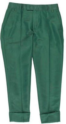 Boy. by Band of Outsiders Cuffed Cropped Trouser $85 thestylecure.com