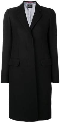 Paul Smith concealed front coat