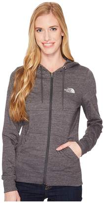 The North Face Lightweight Tri-Blend Full Zip Hoodie Women's Sweatshirt
