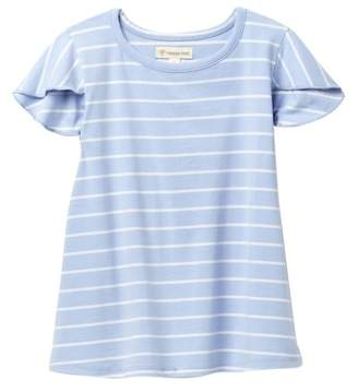 Tucker + Tate Flutter Sleeve Tee (Toddler & Little Girls)