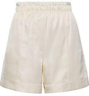 Helmut Lang Silk And Tencel-blend Twill Shorts