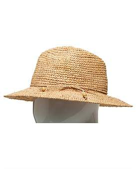 The Two Mrs Grenvilles Raffia Crochet Cowboy Hat