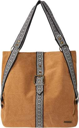 O'Neill Currents Cotton Canvas Convertible Tote