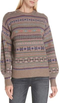 Polo Ralph Lauren Wool, Cashmere & Mohair Fair Isle Sweater