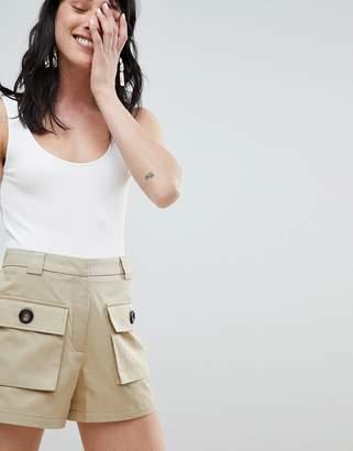 Stradivarius cargo shorts