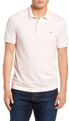 Lacoste 'White Croc' Regular Fit Pique Polo