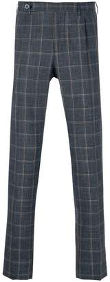 Berwich checked tailored trousers