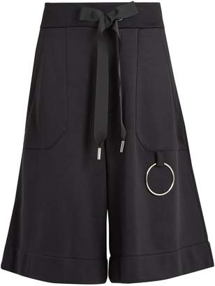 Marques Almeida MARQUES'ALMEIDA Drawstring-waist cotton-blend shorts