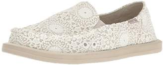 Sanuk Women's Donna Crochet Loafer Flat