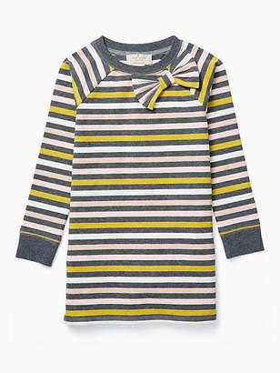 Kate Spade Toddlers metallic stripe dress