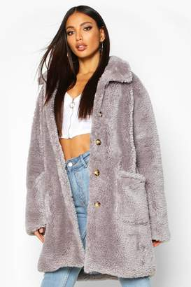 yet not vulgar affordable price timeless design boohoo Fur & Shearling Coats - ShopStyle