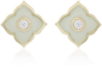 Amrapali Panashri 18k Gold and Diamond Stud Earrings