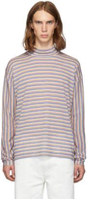 Marni Multicolor Striped Turtleneck
