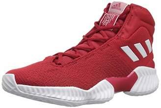 adidas Men's Pro Bounce 2018 Basketball Shoe White/Power red