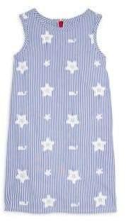 Vineyard Vines Little Girl's& Girl's Stars& Whales Shift Dress