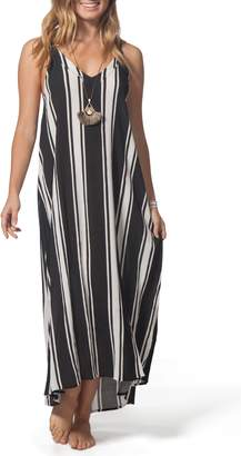 Rip Curl Your Love Stripe Maxi Dress